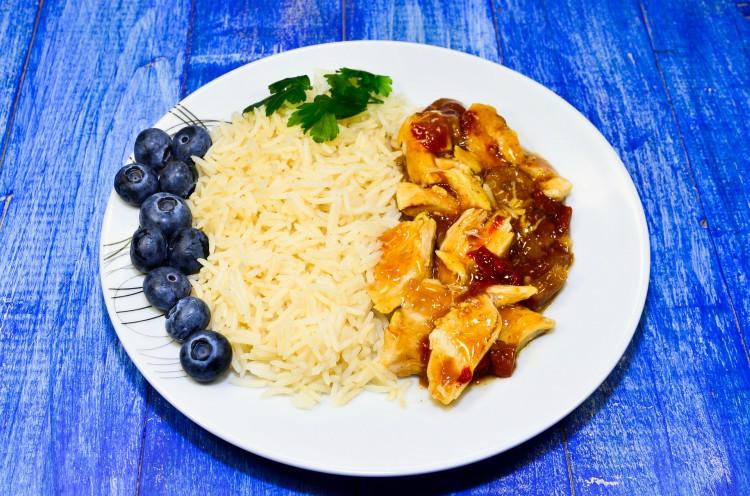 Buona alimentazione per dimagrire le gambe con carni bianche e riso